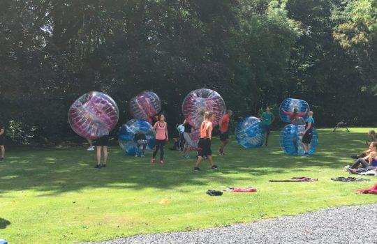 bubble foot équipes team building