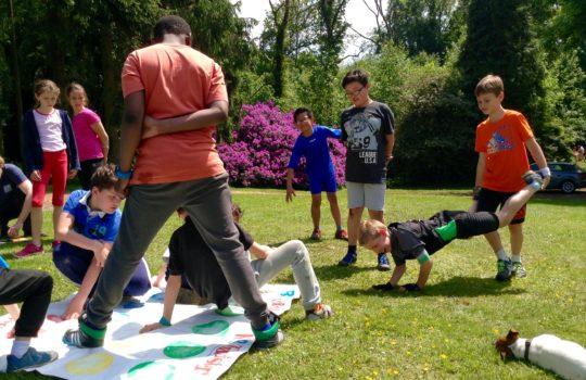 coopération jeux enfants