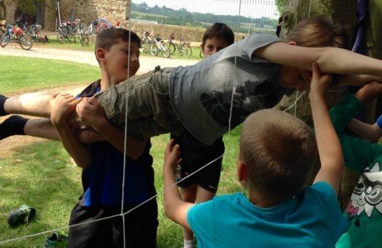 araignée jeu coopération