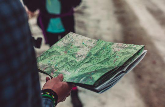 parcours d'orientation carte