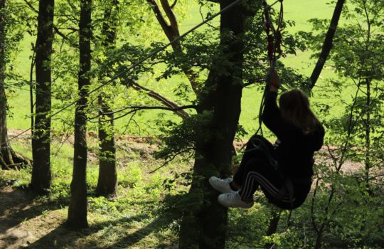 Death ride accrobranche aventure tyrolienne parc