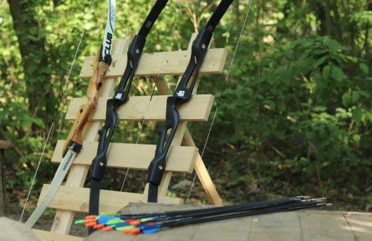 Sport flèche tir à l'arc parc aventure
