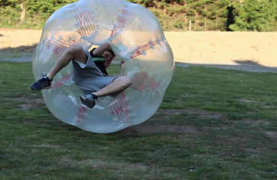 football bulle parc aventure